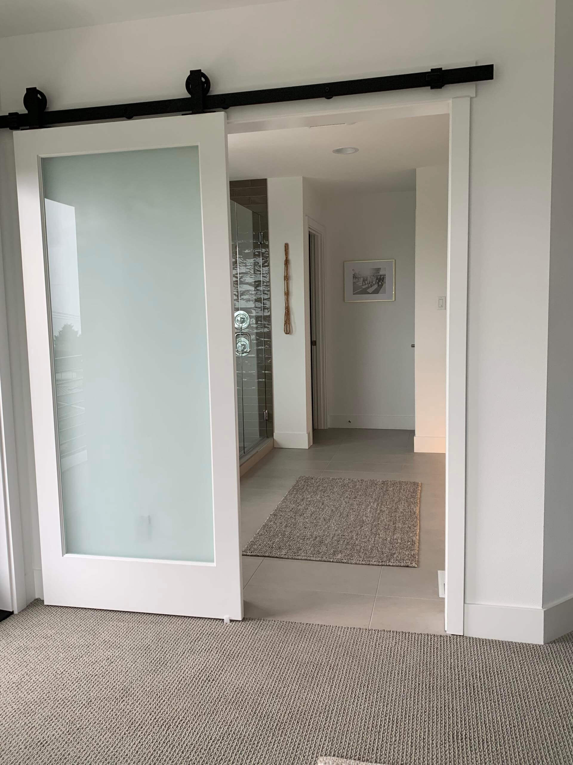 Interior door installation in Bellevue