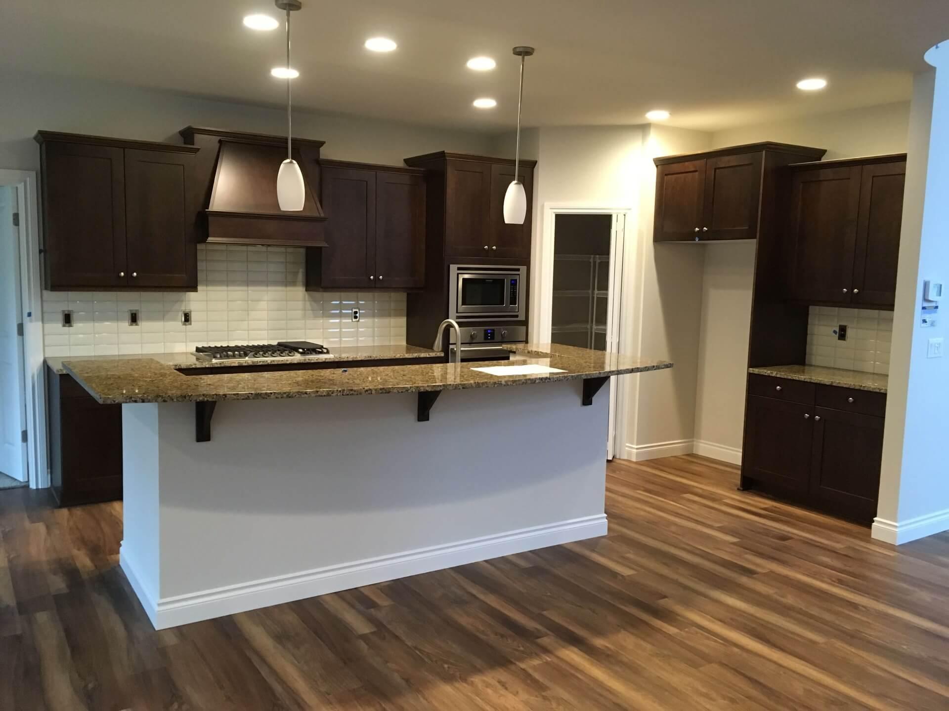 Professional kitchen remodel in Bellevue